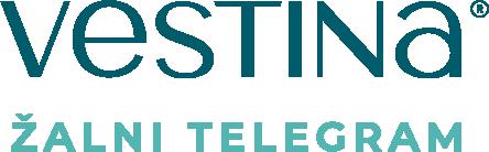 Žalni telegram Vestina